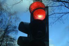 Feu de circulation rouge