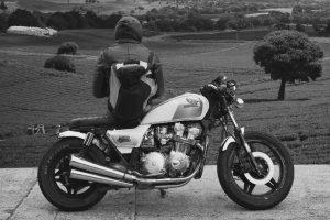 Moto + motard