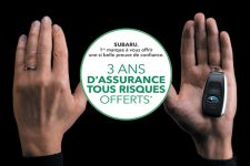 Offre Subaru : 3 ans d'assurance