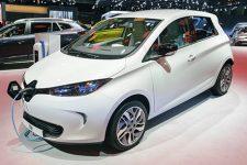 Renault ZOE au Salon de l'Auto